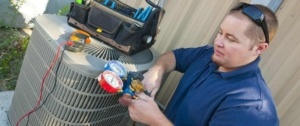 One of our trusted contractors providing HVAC services in Gwinnet County